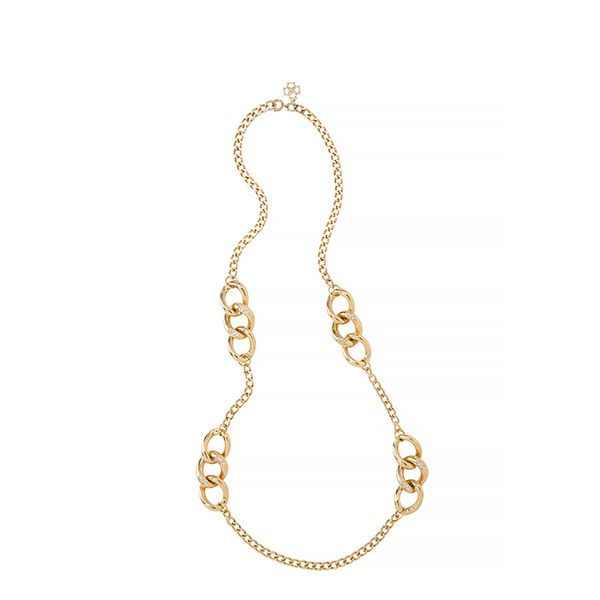 Ann Taylor Gold Chain Necklace
