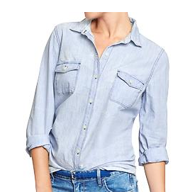 Old Navy Classic Chambray Shirt