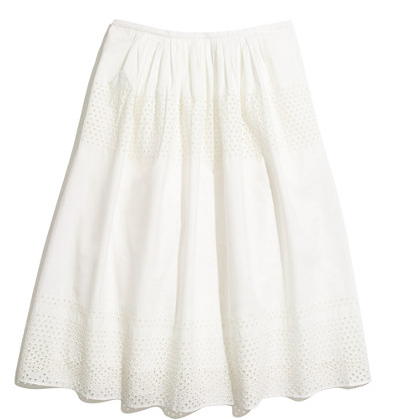 Madewell Latticework Skirt
