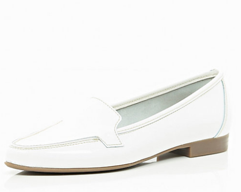 River Island Patent Leather Loafers