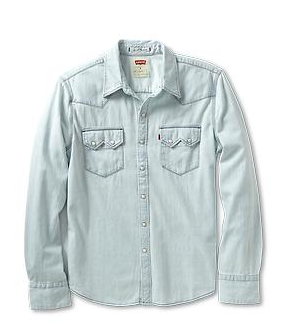 Levi's Long Sleeve Sawtooth Western Shirt