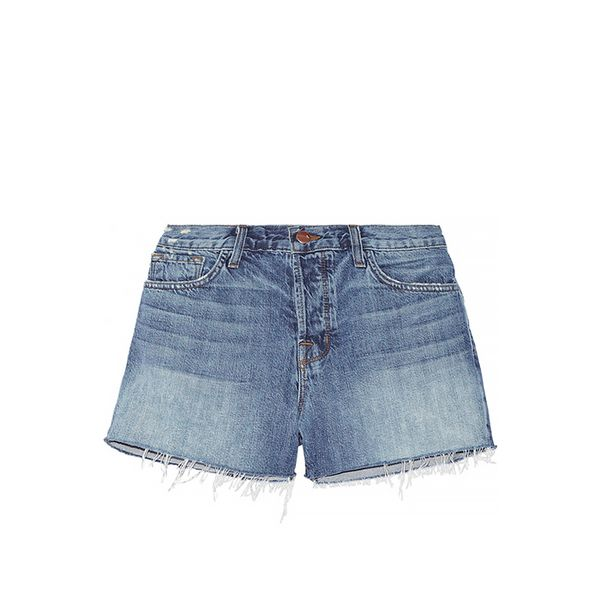 J Brand Carly Mid-Rise Denim Shorts