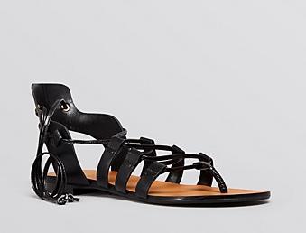 Enzo Angiolini Flat Myani Gladiator Sandals