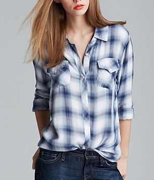 Rails Two Pocket Plaid Shirt
