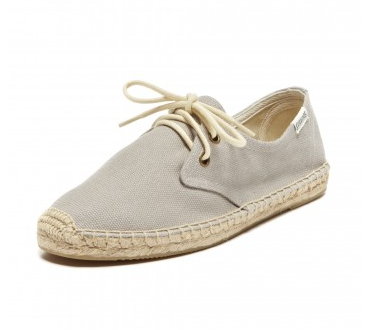 Soludos Canvas Derby Lace Up Espadrilles
