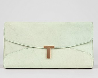 Ted Baker Jamun T Clasp Maxi Clutch