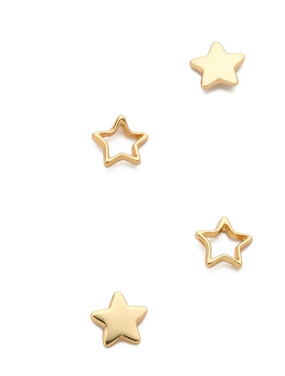 Gorjana Friendship Star Earrings