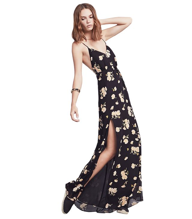 Reformation Cosima Dress ($248) in Secretary
