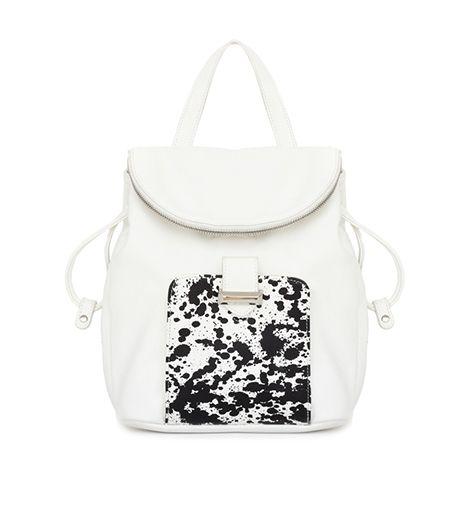 Snob Essentials Pebbled Backpack with Drawstring