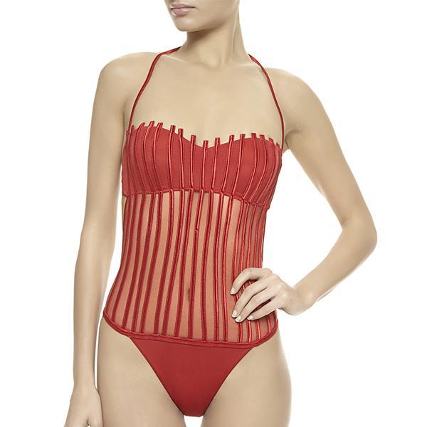 La Perla Mare Graphique Couture Swimsuit