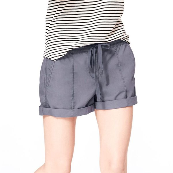 Lou & Grey Washed Poplin Shorts