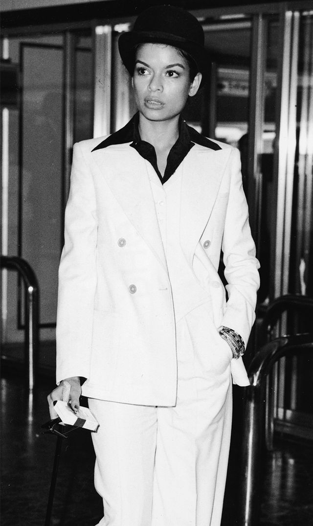 Bianca Jagger  Every fashion-obsessed girl knows that Jagger practically owns the white suit look (she even wore a version on her wedding day). Try this ensemble at work and you're sure to...