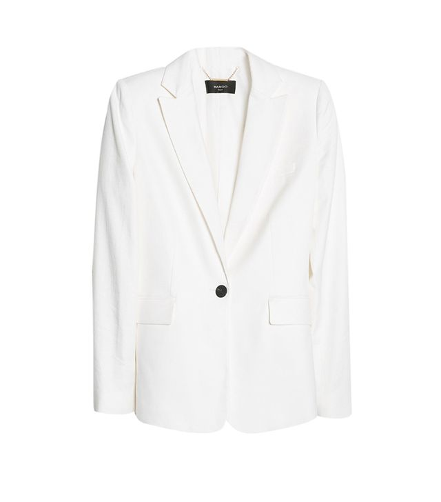 Mango Textured Linen-Blend Blazer ($120)