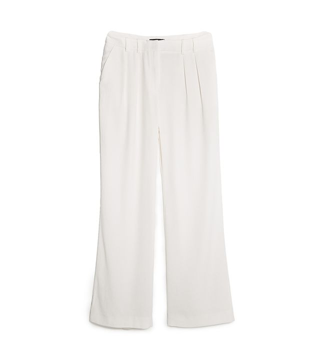 Mango Pleated Crepe Trousers ($60)
