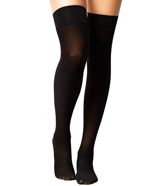 Anthropologie Opaque Thigh Highs ($18)