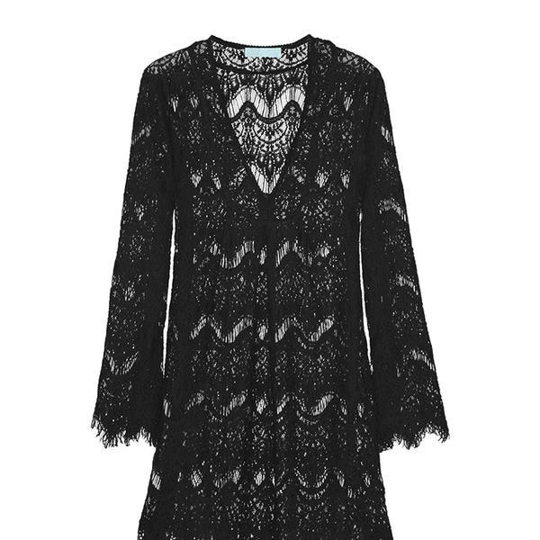Melissa Odabash Elizabeth Crochet-Knit Kaftan