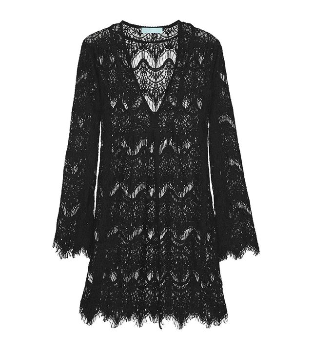 Melissa Odabash Elizabeth Crochet-Knit Kaftan ($385)