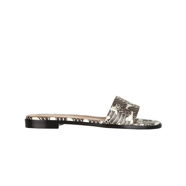 Givenchy Snake Slip-On Sandals