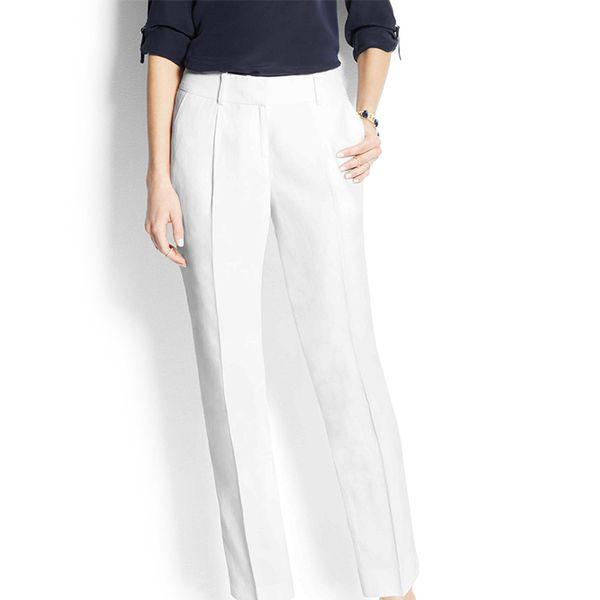 Ann Taylor Wide-Leg Cropped Pants