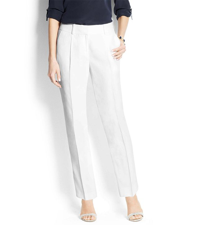 Ann Taylor Wide-Leg Cropped Pants ($89)
