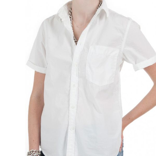 Mother French Short Sleeve Blouse