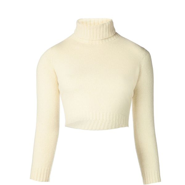 The Row Nenette Cropped Sweater
