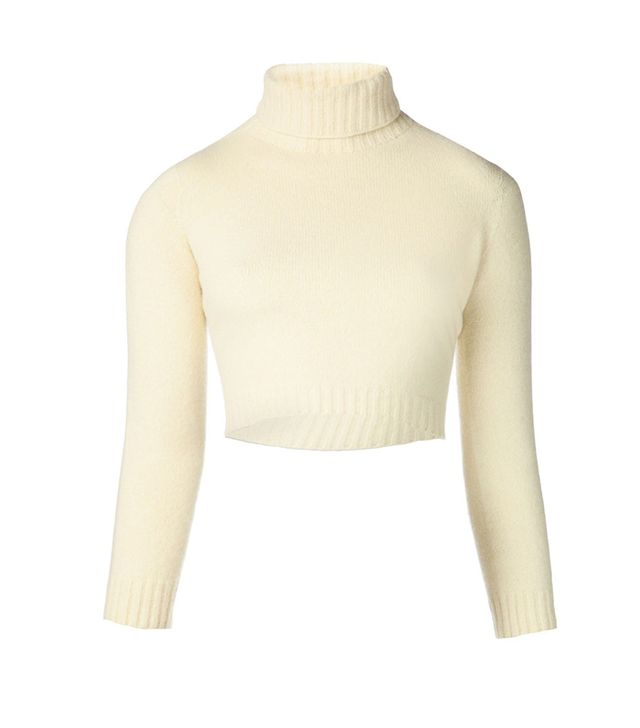 The Row Nenette Cropped Sweater ($690)