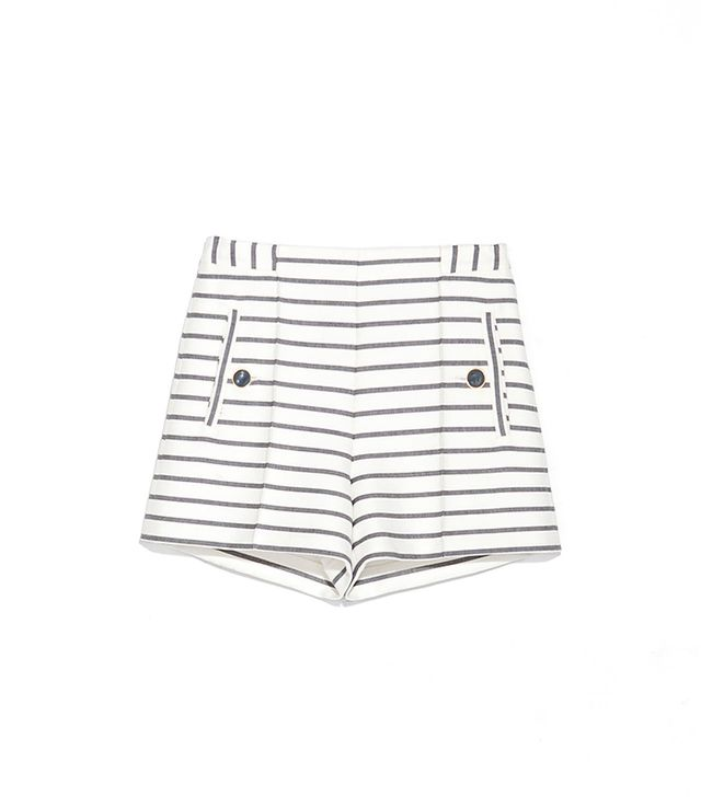 Zara Striped Shorts ($50)