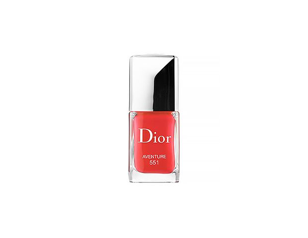 Dior Vernis Gel Shine and Long Wear Nail Lacquer in Aventure