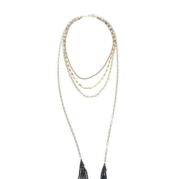 Isabel Marant Paris Lovers Layred Necklace