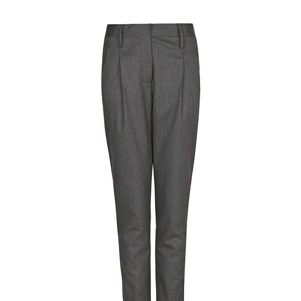 Mango Wool-Blend Trousers