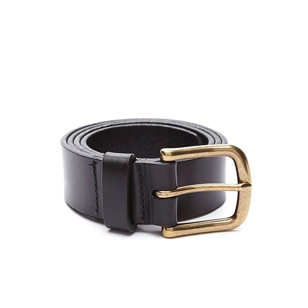 American Apparel Flat Edge Leather Belt