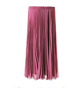 Sophia Clothing Long Pleated Skirt