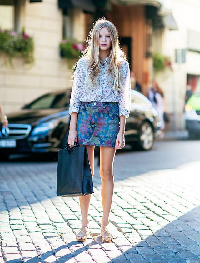 Tip of the Day: Floral on Floral