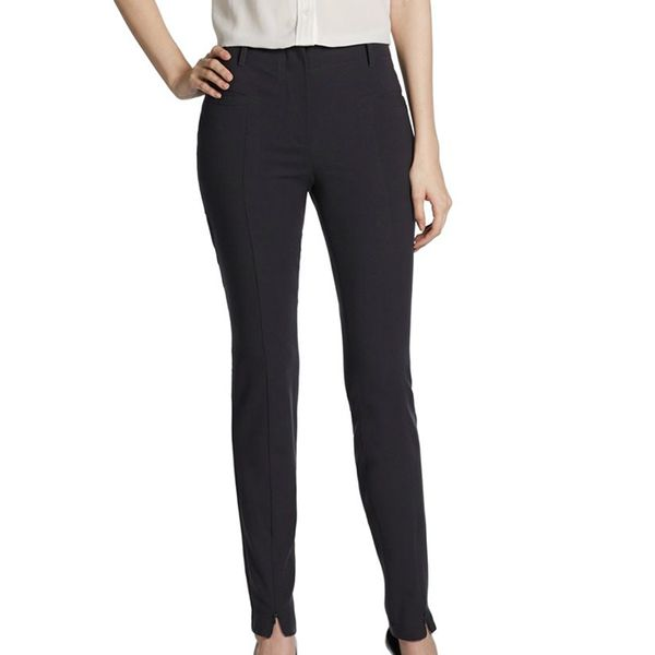 Giorgio Armani Skinny Front-Zip Pants