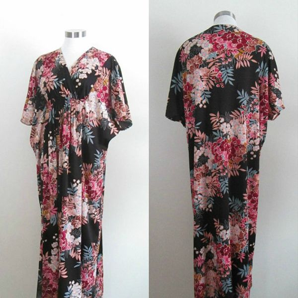 Vintage 1960's Gottex Caftan Dress