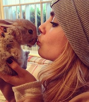 Links We Love: Cara Gets a Bunny, Michelle Obama Smells like Orchids, & More