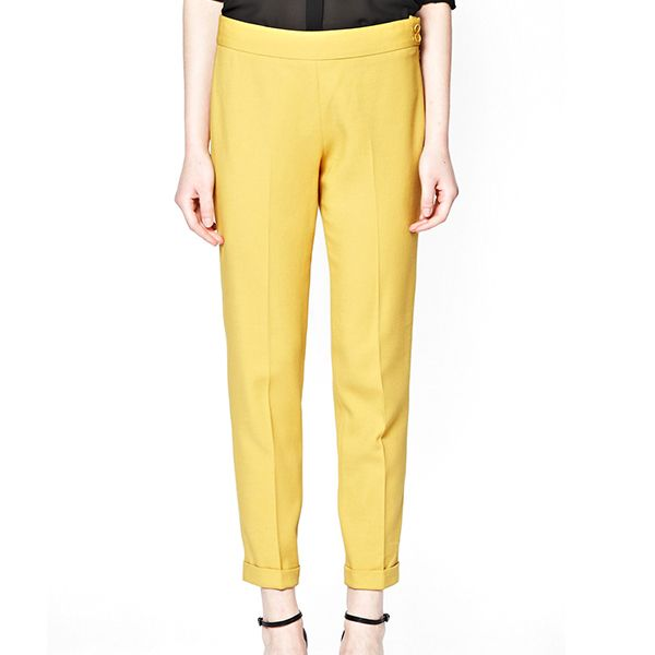 French Connection Feather Light Tailored Trousers ($