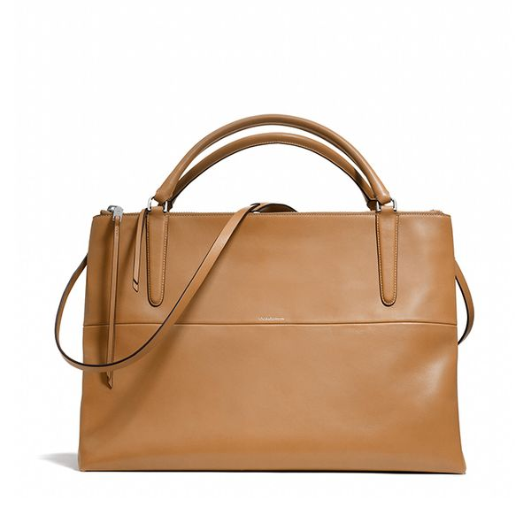 Coach The Large Borough Bag in Retro Glove Tan Leather