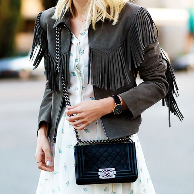 3 Chic Ways To Wear A Fringe Jacket