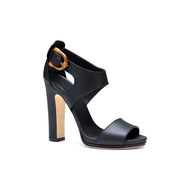 Gucci Nadege Leather Sandals