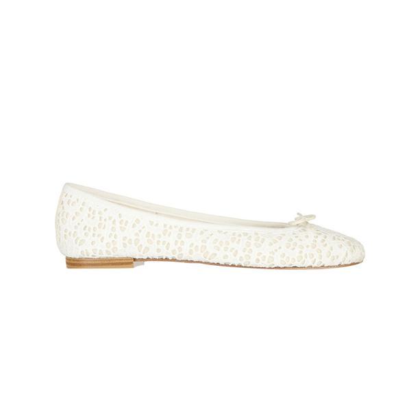 Repetto The Cendrillon Crocheted Lace Ballet Flats