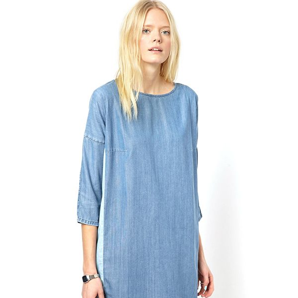 Just Female Chambray Dress