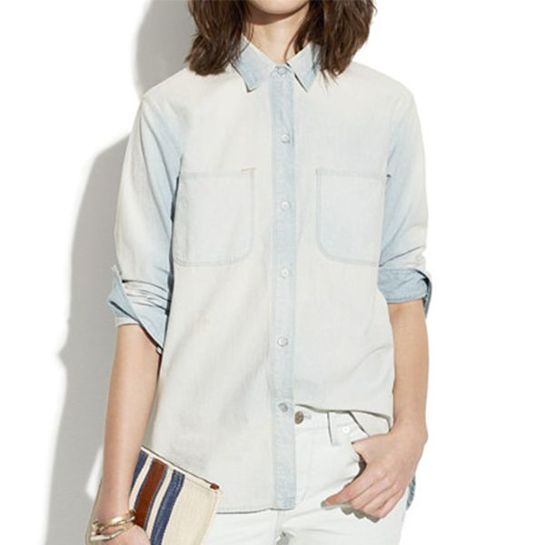 Madewell Perfect Chambray Ex-Boyfriend Denim Shirt