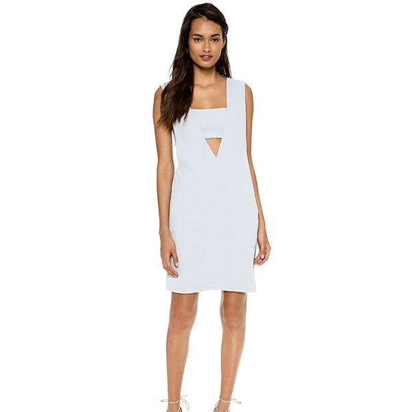 T by Alexander Wang Bandeau Low V Dress