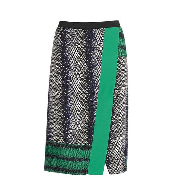 Nic+Zoe Marquee Wink Skirt