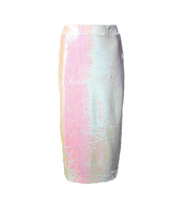 Filles A Papa Hilary Sequinned Skirt ($366)