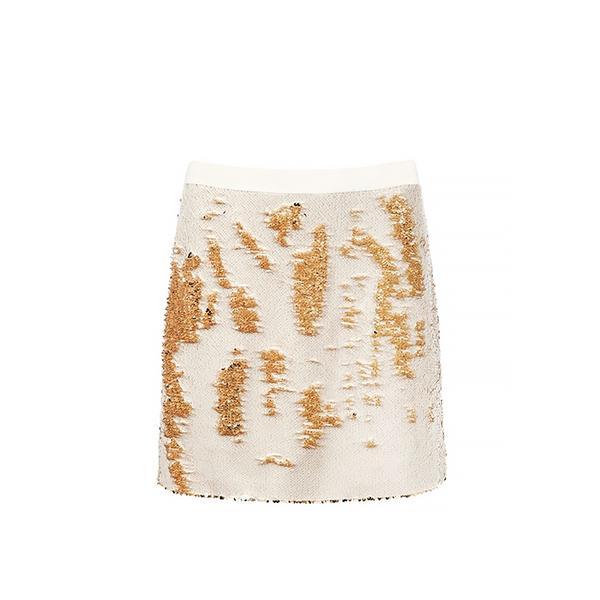 Ted Baker Joleigh Sequin Mini Skirt