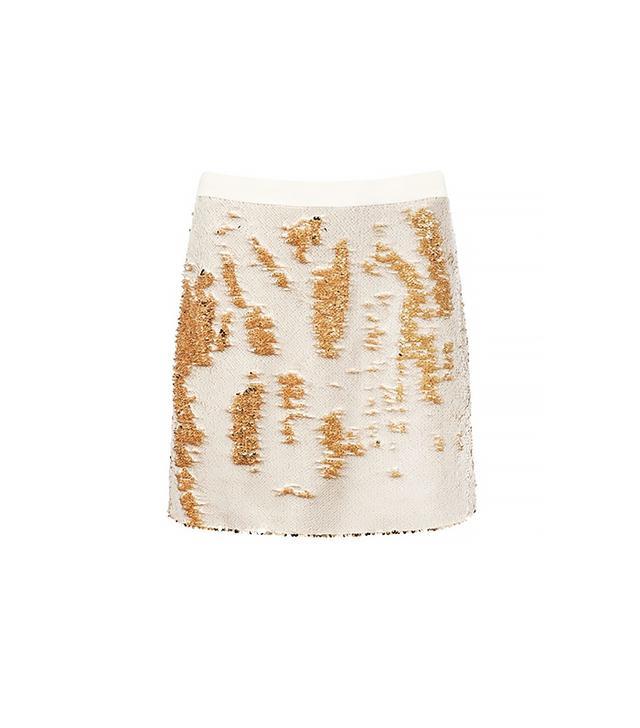 Ted Baker Joleigh Sequin Mini Skirt ($324)