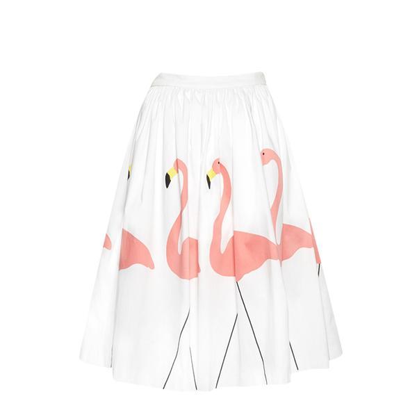 Alice + Olivia Hale Midlength Puff Skirt